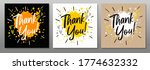 thank you  quote  phrase  card  ...   Shutterstock .eps vector #1774632332