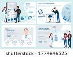 set of web page design...   Shutterstock .eps vector #1774646525
