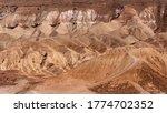 Desert Landscape In The Nature...