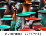 Colored Pottery