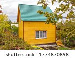 New Small Wooden House On A...