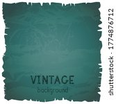 vector vintage background with... | Shutterstock .eps vector #1774876712