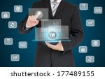 touch screen  touch  smart... | Shutterstock . vector #177489155