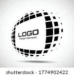 logo perspective frame.... | Shutterstock .eps vector #1774902422