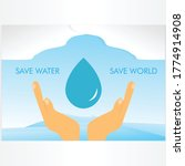 Vector Illustration Of Save...