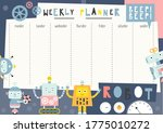 Weekly Planner With Funny...