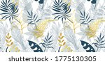 trendy seamless pattern with... | Shutterstock .eps vector #1775130305