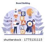brand manager concept....   Shutterstock .eps vector #1775131115