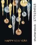 Happy New Year Background With...