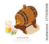 local brewery craft beer pub... | Shutterstock .eps vector #1775250548