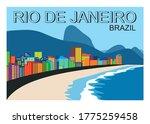 Rio De Janeiro Brazil.sketch Of ...