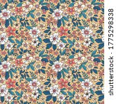 cute floral pattern in the... | Shutterstock .eps vector #1775298338