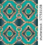 seamless pattern. abstract hand ... | Shutterstock . vector #177531158