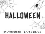 halloween party invitation and... | Shutterstock .eps vector #1775318738