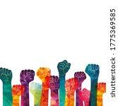 protest  strength  freedom ... | Shutterstock .eps vector #1775369585