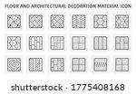 wood floor and material vector... | Shutterstock .eps vector #1775408168