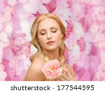 floral and beauty concept  ... | Shutterstock . vector #177544595