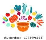 vector illustration of healthy... | Shutterstock .eps vector #1775496995