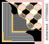 modern vector pattern with... | Shutterstock .eps vector #1775500622