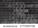 rough black and white texture.... | Shutterstock . vector #1775504738