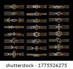 set of borders dividers.... | Shutterstock .eps vector #1775526275