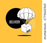 delivery service concept... | Shutterstock .eps vector #1775632565