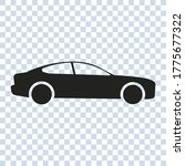 car icon in simple style....