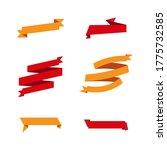 ribbon banner vector... | Shutterstock .eps vector #1775732585