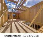 new construction of a house... | Shutterstock . vector #177579218
