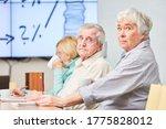 Seniors In A Seminar On...