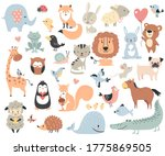 wild animals and pets. perfect... | Shutterstock .eps vector #1775869505