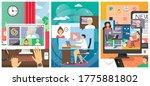 business people video... | Shutterstock .eps vector #1775881802