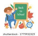 vector back to school...   Shutterstock .eps vector #1775932325