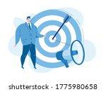 find leader target  smm... | Shutterstock .eps vector #1775980658