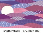traditional oriental patterns... | Shutterstock .eps vector #1776024182