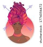 illustration of sagittarius... | Shutterstock .eps vector #1776056672