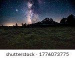 The Stars From Grand Teton...