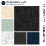 topographic maps. beautiful...   Shutterstock .eps vector #1776102482