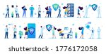 sets of medical personage for... | Shutterstock .eps vector #1776172058