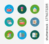 property icons set. app and...