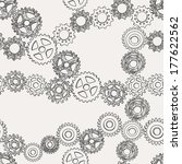 abstract gears | Shutterstock .eps vector #177622562