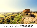 Temple Of Concordia. Valley Of...