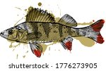The Vector Illustration Of The...