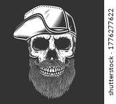 illustration of bearded skull... | Shutterstock .eps vector #1776277622