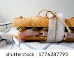 Jambon Beurre. French Baguette...