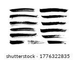 vector grungy paint brush... | Shutterstock .eps vector #1776322835