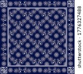 vector ornament floral bandana...   Shutterstock .eps vector #1776327488