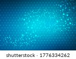 structure molecule and...   Shutterstock . vector #1776334262
