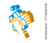 soap foam for washing hands... | Shutterstock .eps vector #1776346118