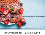 Whole Grain Waffles With...